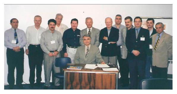 Membros durante o primeiro Congresso da SBCBM