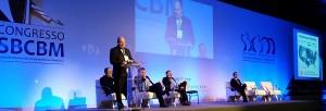 O americano Alfons Pomp apresenta aula sobre obesidade infanto-juvenil no 2° dia do XVI Congresso da SBCBM.