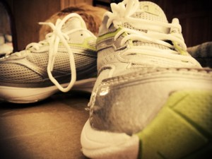 Calce seus tênis e se exercite por uma saúde melhor!