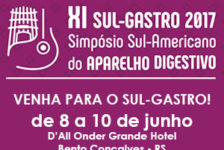 XI Sul Gastro 2017 – Simpósio Sul Americano do Aparelho Digestivo