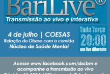 SBCBM promove o primeiro BARILIVE no dia 04 de julho