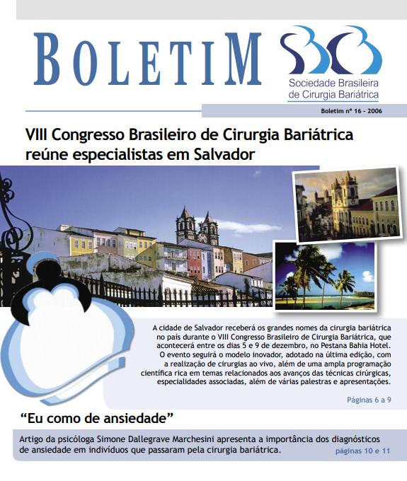 Boletim No. 16 – 2006