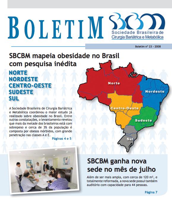 Boletim No. 23 – 2008