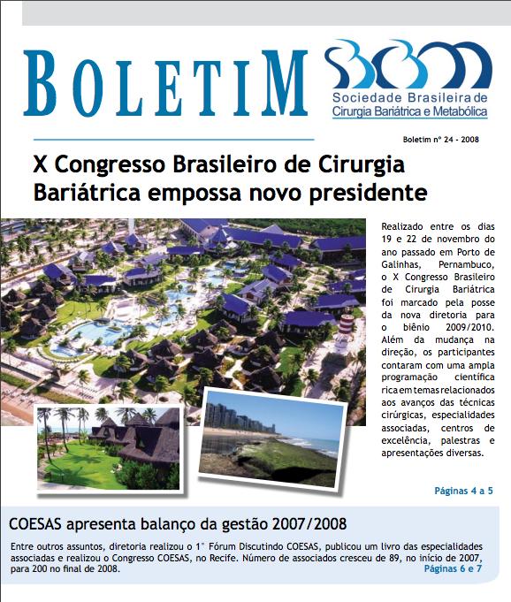 Boletim No. 24 – 2008