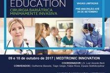 Medtronic promove treinamento para jovens cirurgiões bariátricos