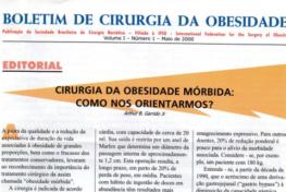 Boletim Vol. 1 – No. 1 – 2000