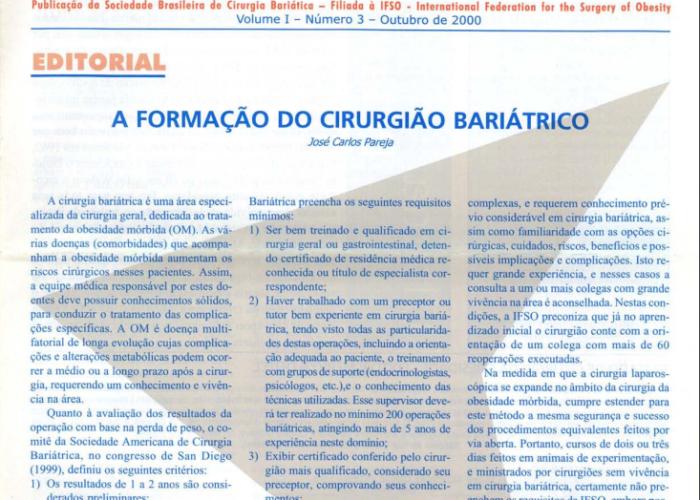 Boletim Vol.1 – No. 3 – 2000