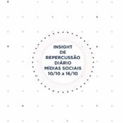 Insight de Repercussão Diário – SBCBM – 10.10 a 16.10