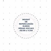 Insight de Repercussão Diário SBCBM 05/09 a 11/09