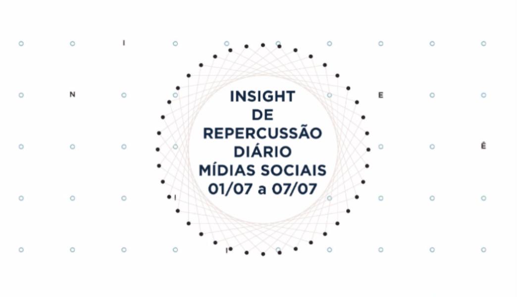 Insight de Repercussão Diário – SBCBM – 01.07 a 07.07
