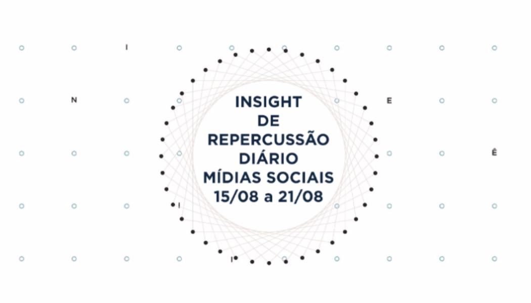 Insight de Repercussão Diário – SBCBM – 15.08 a 21.08