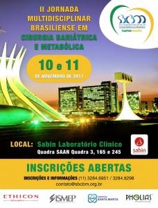 II Jornada Multidisciplinar Brasileira em Cirurgia Bariátrica acontece em Brasília