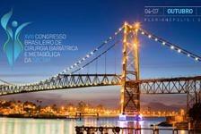 VXIII Congresso Brasileiro de Cirurgia Bariátrica acontece entre os dias 4 e 7 de outubro em Florianópolis