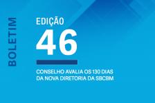 Conselho avalia os 130 dias da nova diretoria da SBCBM