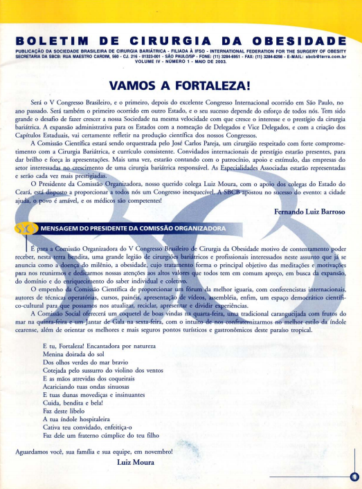 Boletim Vol. 4 – No. 1 – 2003