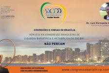 CONVITE PARA O XIX CONGRESSO DA SBCBM – Dr. Luiz Fernando Córdova – Presidente do Capítulo de BRASÍLIA