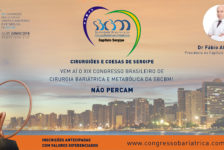 CONVITE PARA O XIX CONGRESSO DA SBCBM – Dr Fábio Almeida, Presidente do Capítulo SERGIPE