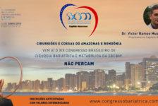 CONVITE PARA O XIX CONGRESSO DA SBCBM – Dr. Victor Ramos Mussa Dib, Presidente do Capítulo AMAZONAS