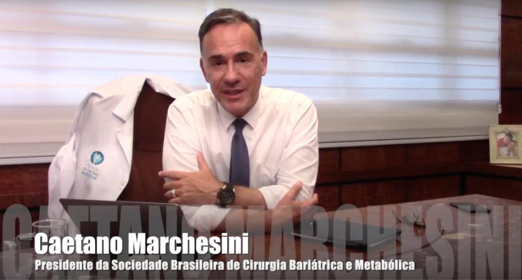 CONVITE DO PRESIDENTE DA SBCBM, CAETANO MARCHESINI, PARA O CONGRESSO EM FORTALEZA