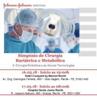 Capítulo de Pernambuco promove  Simpósio em Cirurgia Bariátrica