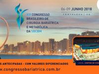 XIX Congresso Brasileiro de Cirurgia Bariátrica possui recorde de expositores