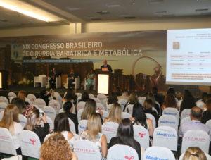 Sala dedicada às especialidades médicas tem recorde de público no XIX Congresso de Cirurgia Bariátrica