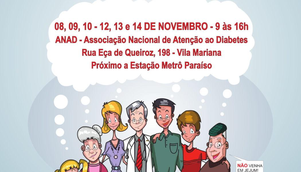 Campanha Nacional Gratuita em Diabetes
