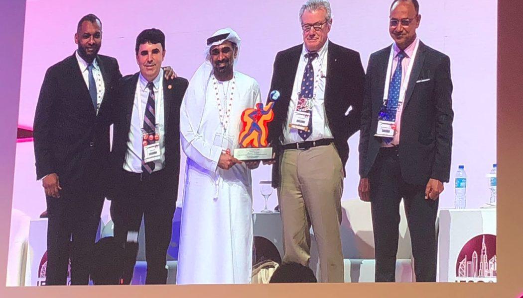 Almino Ramos assume a presidência da IFSO em Dubai