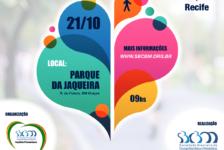 Parque da Jaqueira recebe 1ª Caminhada Nacional de Combate à Obesidade neste domingo