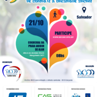 Salvador recebe 1ª  Caminhada Nacional de Combate à Obesidade