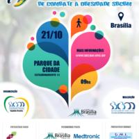 Brasília recebe a 1ª Caminhada Nacional de Combate à Obesidade neste domingo