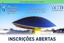 INSCRIÇÕES: XX CONGRESSO BRASILEIRO DE CIRURGIA BARIÁTRICA E METABÓLICA DA SBCBM