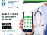 Aplicativo do XX Congresso da SBCBM está disponível para download