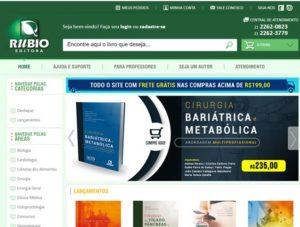 """Livro """"Cirurgia Bariátrica e Metabólica – Abordagem Multiprofissional"""" está à venda na Editora Rubio"""