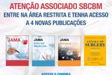 SBCBM garante acesso exclusivo à JAMA e Annals of Surgery para associados