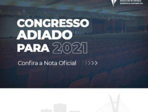 Comunicado – Adiamento do XXI Congresso SBCBM